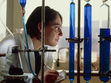 Organic Chemist Synthesising Chemotherapy Agent
