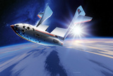 SpaceShipOne Re-entry