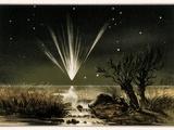 Great Comet of 1861  Artwork