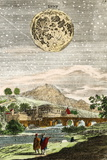 Early Map of the Moon  1635
