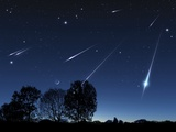 Meteor Shower  Artwork