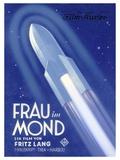Frau Im Mond Advert  1929