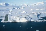 Aerial View of Rothera Station  Antarctica