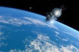 Vostok 1 Orbiting the Earth  1961