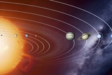 Solar System Orbits  Artwork