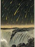 Leonid Meteor Shower of 1833  Artwork