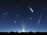 Meteor Shower  Artwork