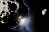 Asteroid Impact  Artwork