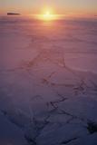 Sunset In Antarctica