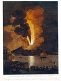 Eruption of Vesuvius  1779