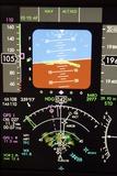 Aeroplane Control Panel Display