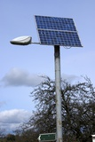 Solar Powered Street Light  UK