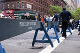New York Police Crowd Control Barriers
