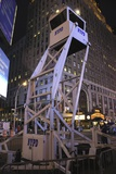 Police Observation Tower In New York