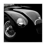 Jaguar C-Type Giclée premium par Retro Classics