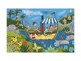 River Adventures Giclée premium par Sophie Harding