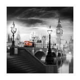 Autobus à impériale de Londres III Giclée premium par Jurek Nems