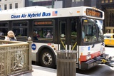 Hybrid Bus In Chicago