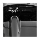 Porsche 1960 : intérieur Giclée premium par Retro Classics