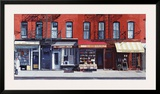 Four Shops on 11th Avenue  New York  c2003