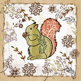Whimsical Woodland IV (squirrel)