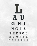 Eye Chart Typography II