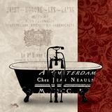 Red & Black Bath Tub II
