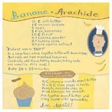 Banana-Peanut Cupcake