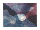 Mountain and Synthetic Air Giclée par Paul Klee