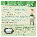 Chocolate-Coconut Cupcake