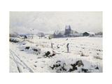 A Winter Landscape  Holmstrup