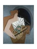 Femme au panier Giclée par Juan Gris