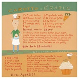 Carrot-Maple Cupcake