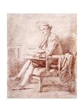 Portrait of Joseph-Jerome Le Francais de Lalande