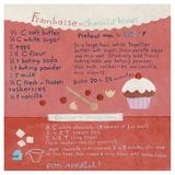 White Chocolate-Raspberry Cupcake