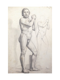 Naked man Standing