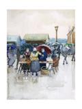 Rainy Day: The Fish Market