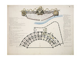 St Petersburg: Plan of the Bank and Mint Erected for the Usage of the Imperial Ban