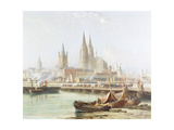 Cologne Cathedral on the Rhine