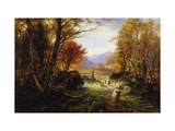 Changing Pastures, Evening Giclée par Joseph Farquharson