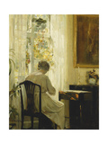 A Woman in an Interior
