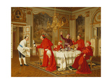 Appartements de Louis XVI a Versailles; The Chef's Birthday