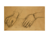 Study of Hands for a Portrait of Helene Rouart