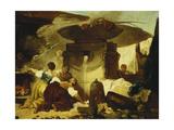 Les Blanchisseuses a la Fontaine