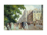 Street Scene in Paris
