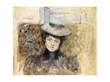 Woman with Netted Hat
