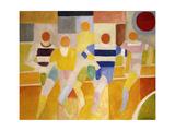 The Runners Giclée par Robert Delaunay
