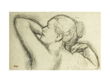 Buste de femme Giclée par Edgar Degas