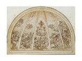 The Apotheosis of Saint Francis Surrounded by Musician Angels: Design for an Apse