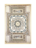 Design for the Library Ceiling at Woburn Abbey